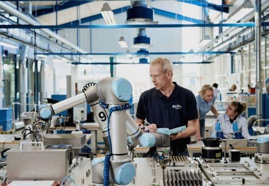 robotica colaborativa en la industria
