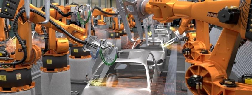 robotica en la industria automotriz
